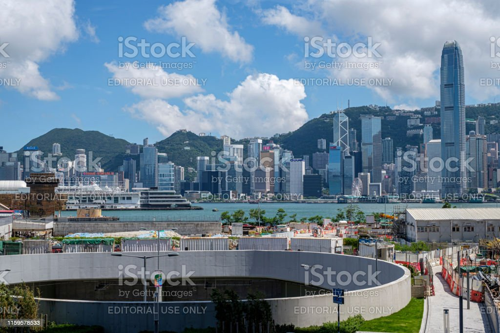 Hong Kong Skyline And Victoria Harbor Stock Photo - Download Image Now - iStock