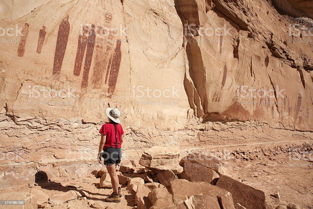 Horseshoe Canyons Holy Ghost Panel Canyonlands National
