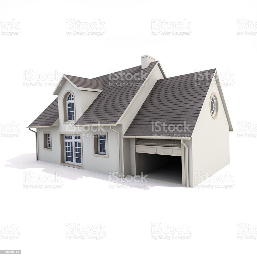 https www istockphoto com fr photo maison sur fond blanc gm468985214 61186698