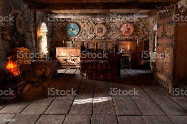 3d Illustration Medieval Bedroom Stock Photo Download Image Now iStock