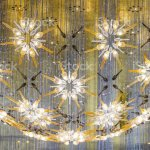 Indoor Lightvintage Luxury Beautiful Retro Is Group Set Of Modern Ceiling Lamp Decor At Restaurant Interior Decoration Contemporary Stock Photo Download Image Now Istock