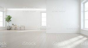 background wall indoor floor plant wooden modern window empty door natural studio hall