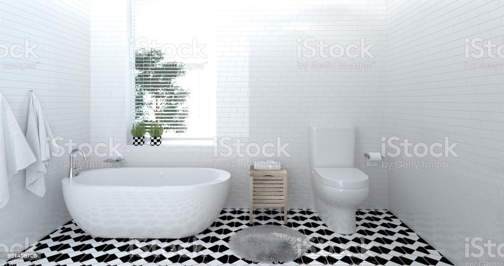 https www istockphoto com fr photo maison moderne douche toilette salle de bain int c3 a9rieur design 3d illustration pour gm951408706 259712723