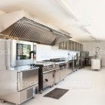 Interior Look Of A Professional Kitchen With Stainless Steel Stock Photo Download Image Now Istock