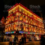 Japanese Restaurant Drawing Signs On Building Stock Photo Download Image Now Istock