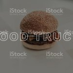 Juicy Hot Burger Closeup Food Truck Cooking Stock Photo Download Image Now Istock