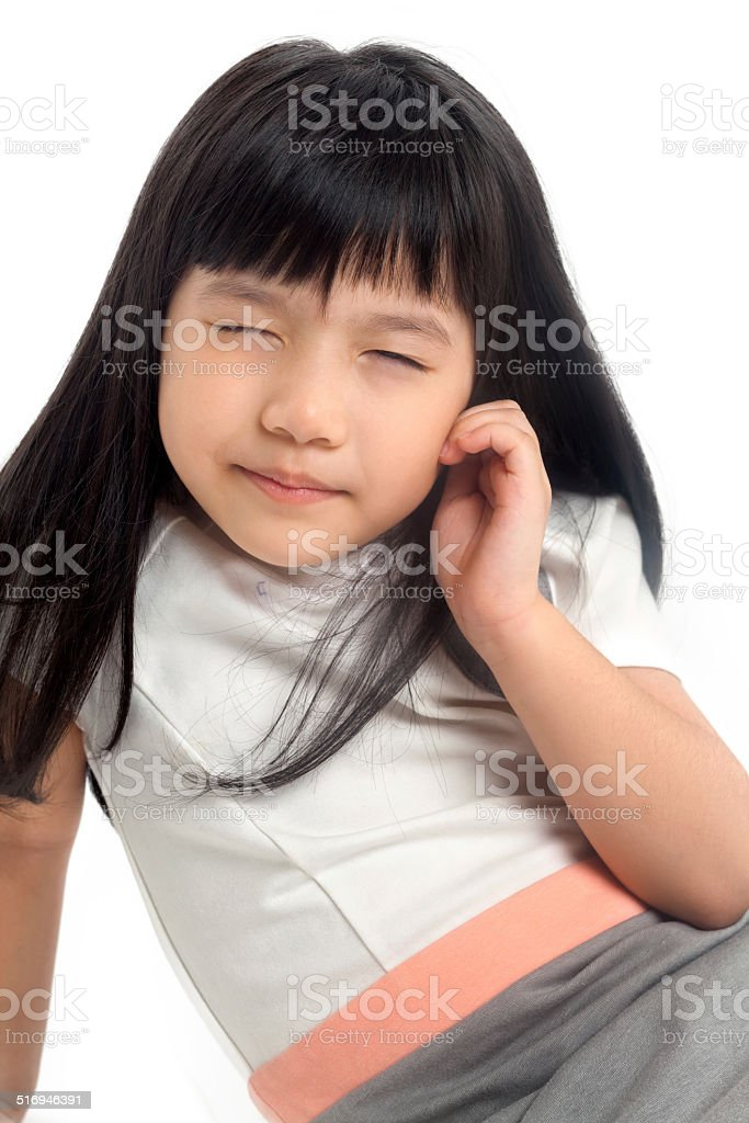 Asian Squinting : asian, squinting, Narrowing, Vision, Stock, Photo, Download, Image, IStock