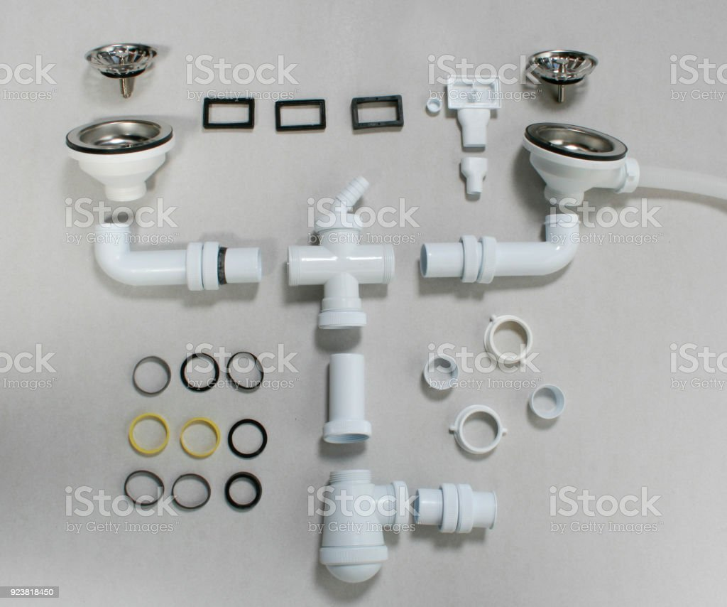 kitchen sink drain parts stock photo download image now istock