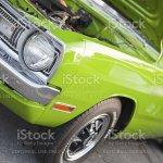 Foto De Verde Limao 1970 Dodge Dart E Mais Fotos De Stock De 1970 1979 Istock