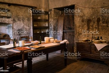 Medieval Kitchen In Abruzzo Stock Photo Download Image Now iStock