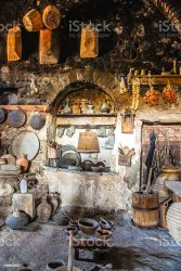 36 Domestic Kitchen Old Stove Medieval Stock Photos Pictures & Royalty Free Images iStock