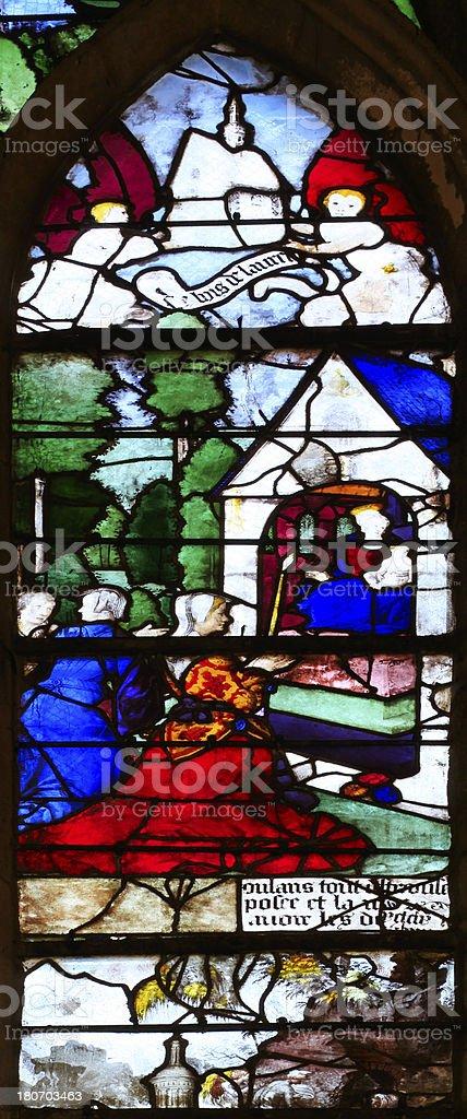 Made In Saint Etienne : saint, etienne, Medieval, Window, Santa, Church, Saintetienne, Beauvais, France, Stock, Photo, Download, Image, IStock