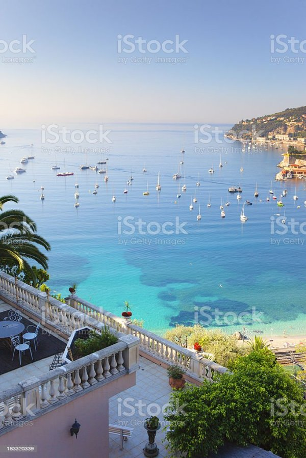 Mediterranean Bay Stock Photo & More Pictures of Alpes ...