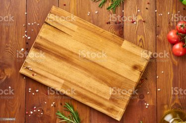 Menu Recipe Mock Up Banner Food Seasoning Background Spices Herbs And Wooden Cutting Board On Brown Dark Wooden Backdrop Top View Copy Space Stock Photo Download Image Now iStock