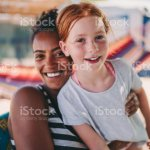 Mixed Race Girls On Beach Holiday Stock Photo Download Image Now Istock