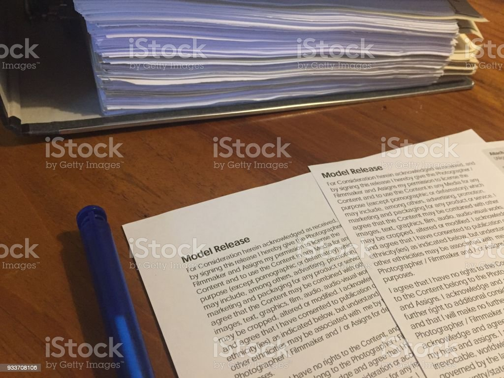 Model Release Form Stock Photo & More Pictures of Agreement   iStock