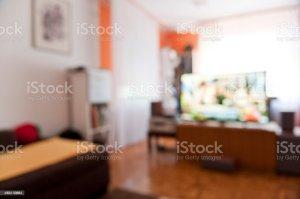 living blurry interior defocus