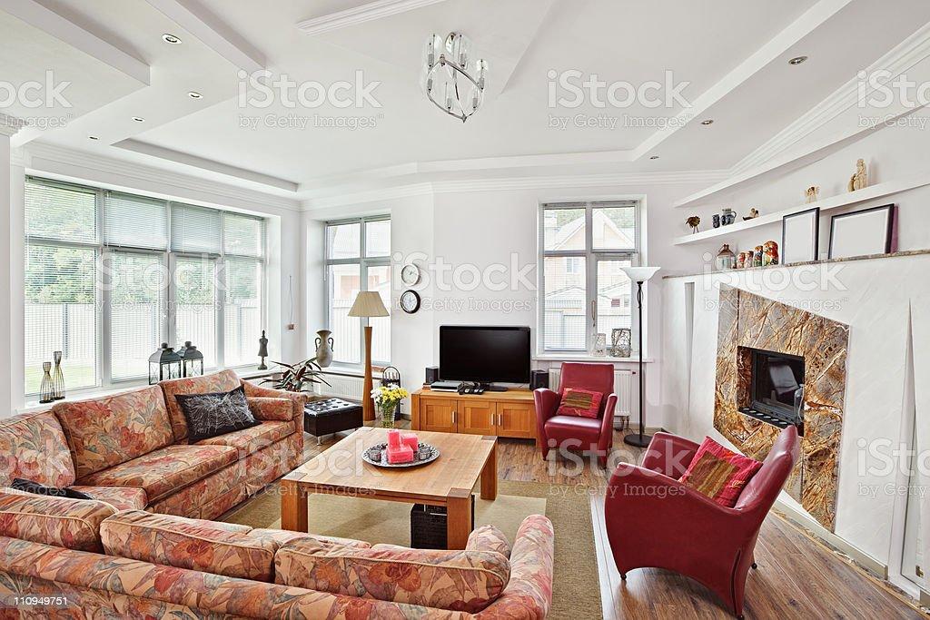 https www istockphoto com de foto moderne art deco stil salon mit kamin innen zimmer gm110949751 15567385
