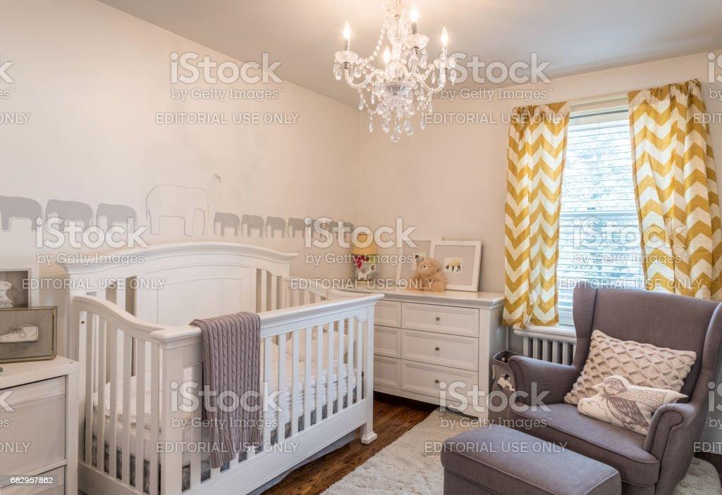 Modern Baby Bedroom Interior Stock Photo Download Image Now Istock
