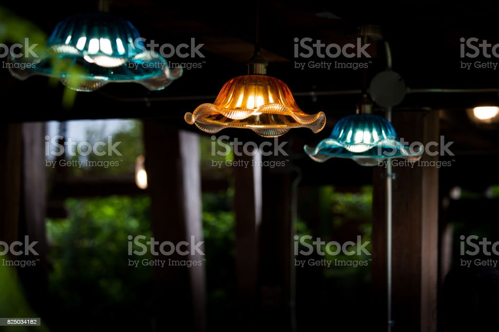 https www istockphoto com photo modern hanging lamp with rustic wooden interior farmhouse background concept of gm825034182 133755499