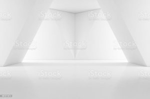 showroom interior empty background wall floor modern 3d wa istock integration platform holo magic abstract concrete hall illustration guide related