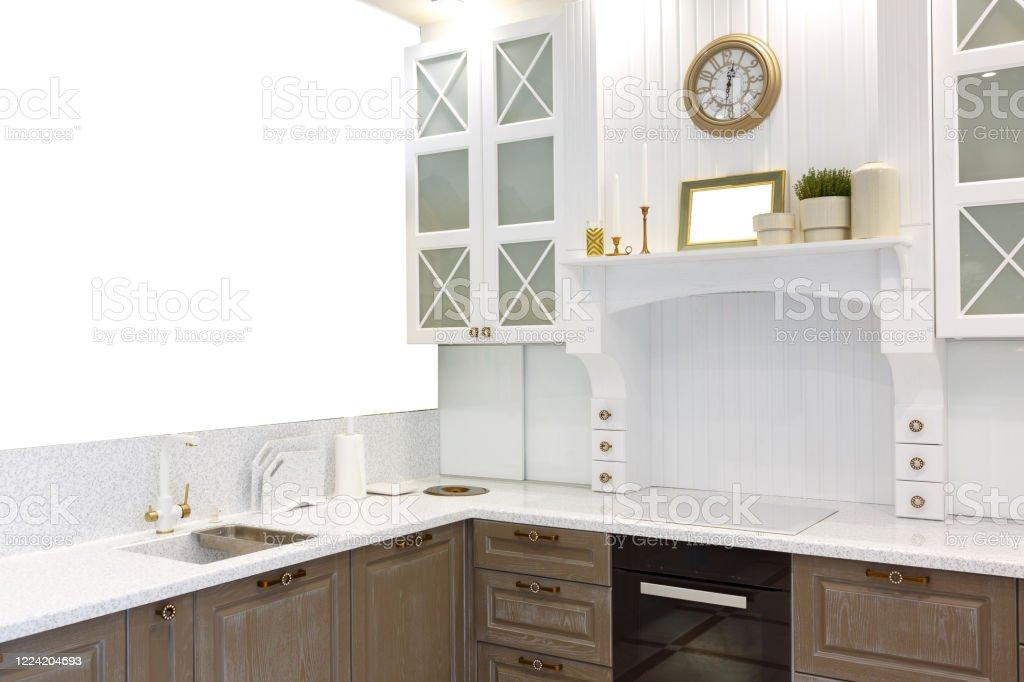 https www istockphoto com fr photo cuisine moderne avec table noire chaises blanches et carrelage gris gm1224204693 359871072
