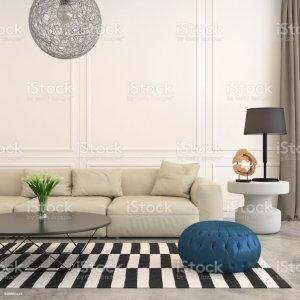 background living interior modern template