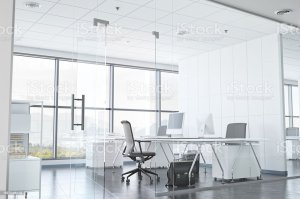 office glass wall modern walls exterior window building istock interior windows chair company desk remodeling block estate cleaning partition premium