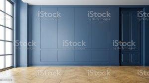 living modern empty interior 3d wall flooring rendering dark bedroom space parquet wood istockphoto illustrations