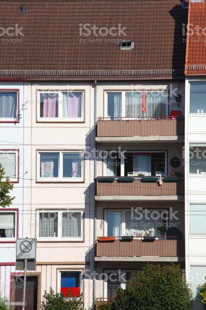 Wohngebude Mehrfamilienhaus