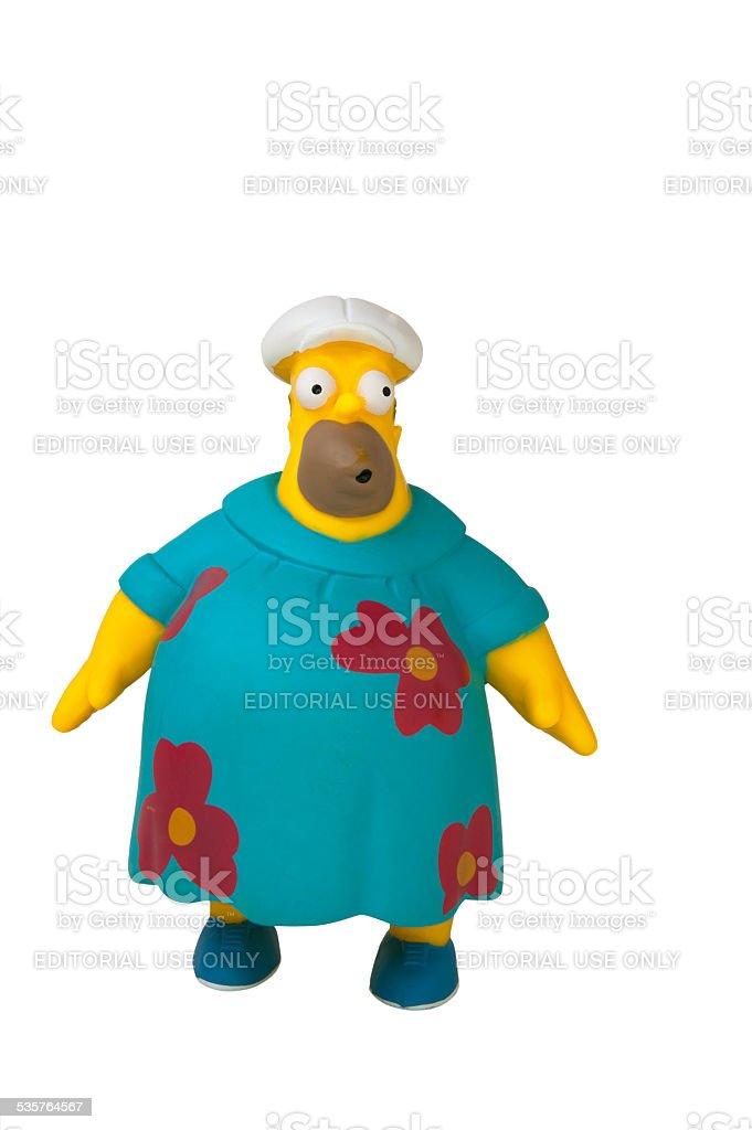 Homer Simpson Moo Moo : homer, simpson, Homer, Simpson, Figurine, Stock, Photo, Download, Image, IStock