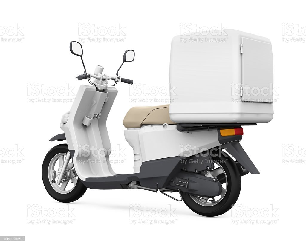 It's perfect for branding projects (vehicle branding for a restaurant to be precise), advertising, automotive design, and web presentations. Motorcycle Delivery Box Stock Photo Download Image Now Istock