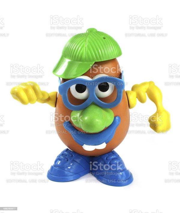 Potato Head Toy Hasbro Stock &