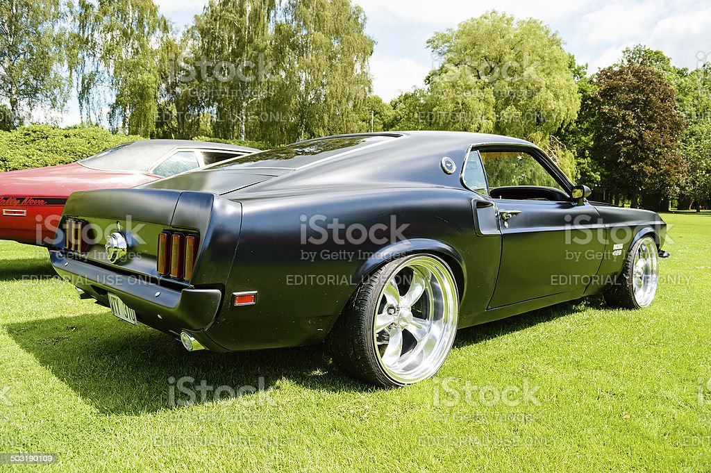 New tires with late model mustang rims. Mustang Fastback 1969 Stock Photo Download Image Now Istock
