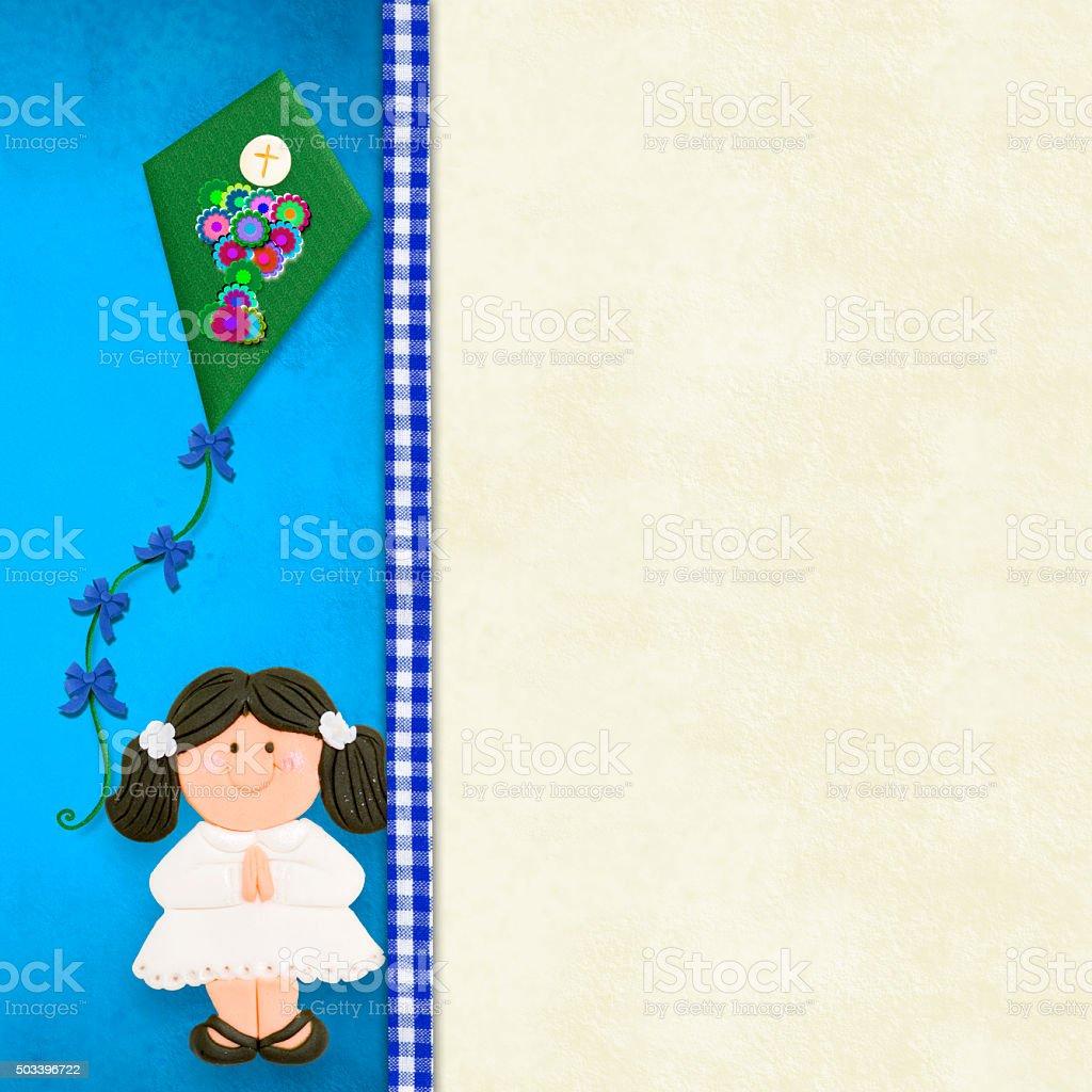 https www istockphoto com photo my first holy communion invitation card girl gm503396722 82506861