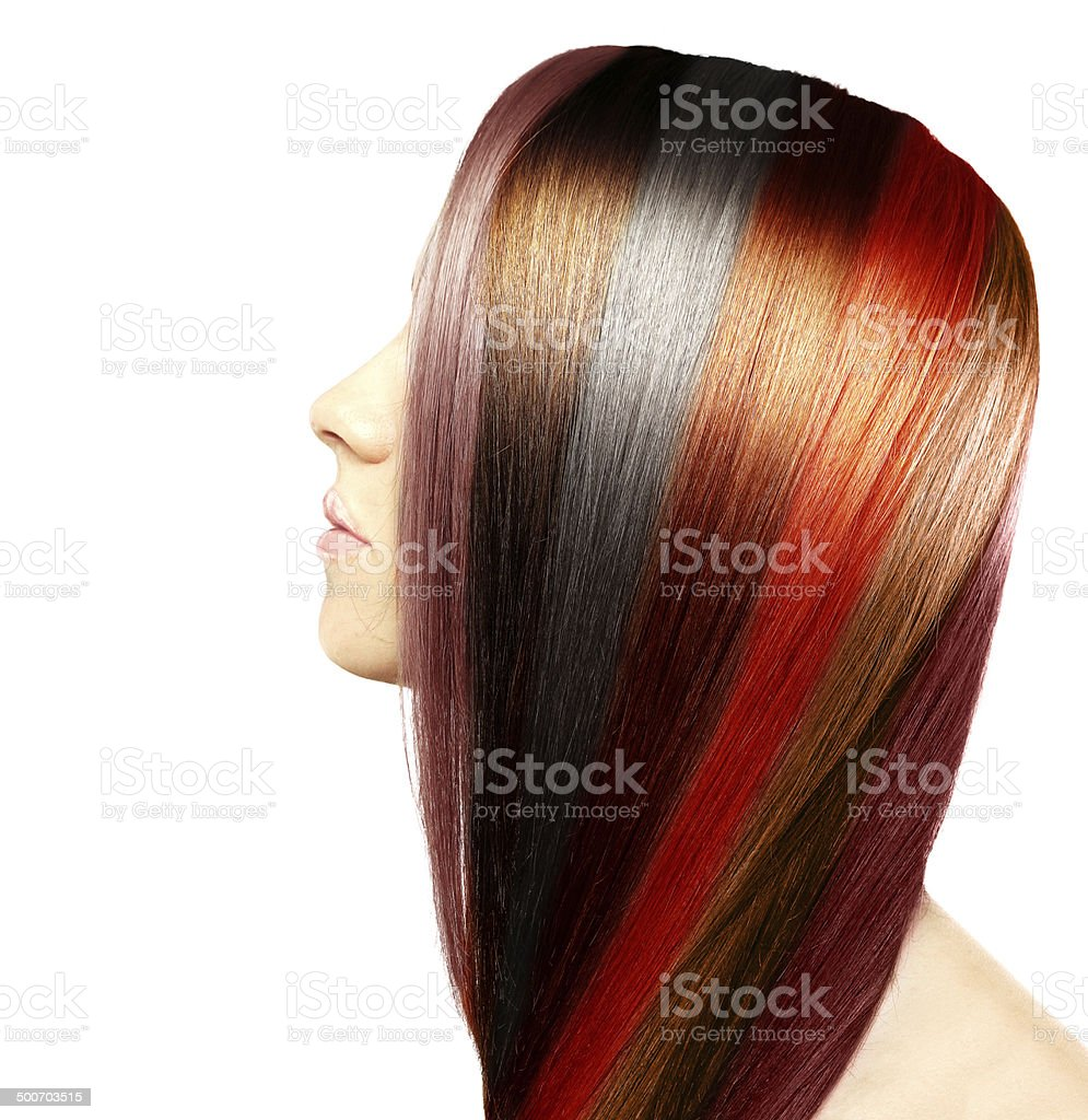 Natural Colored Hair Stock Photo  Download Image Now  iStock