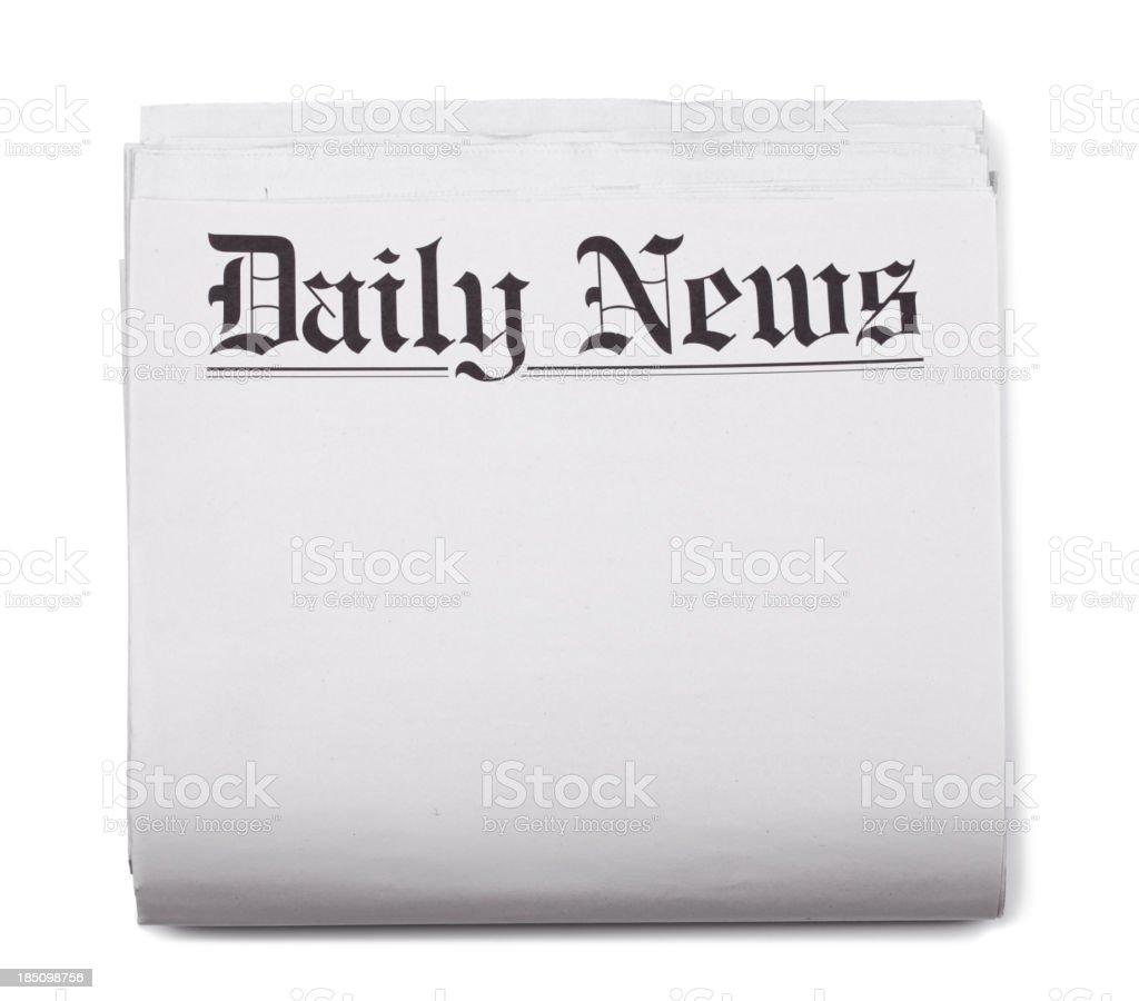 newspaper headlines template