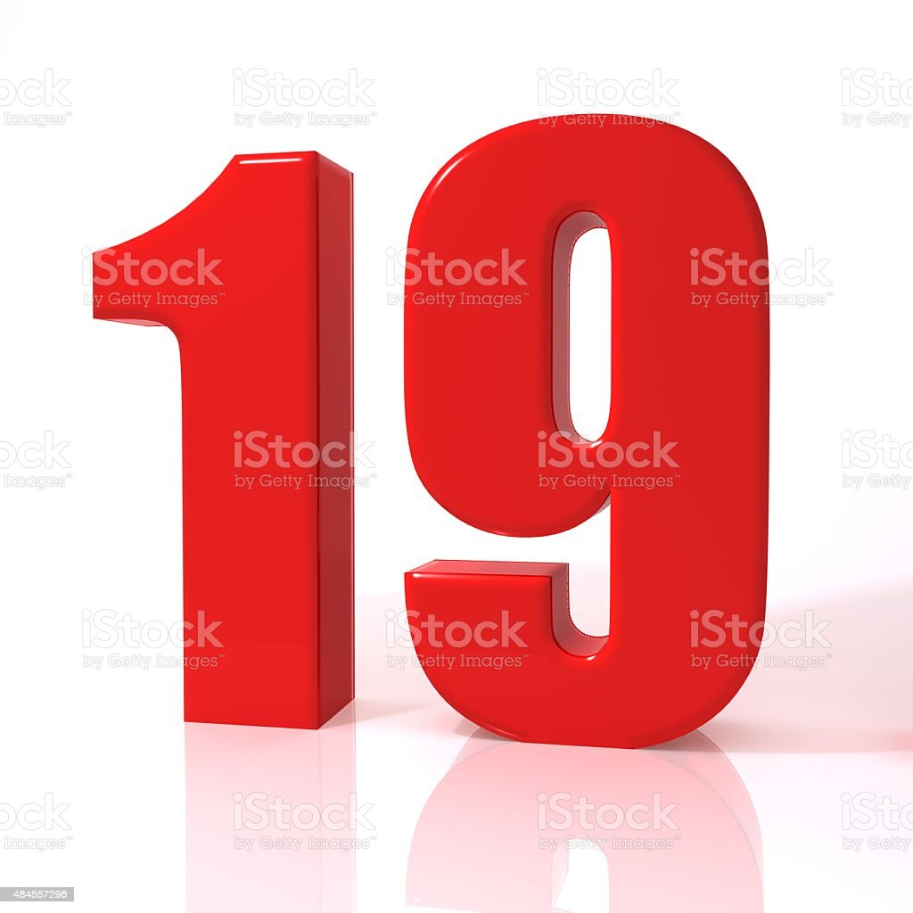 Royalty Free Number 19 Pictures, Images And Stock Photos
