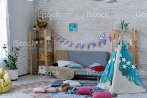 mess nursery messy cluttered teepee maximize extra space