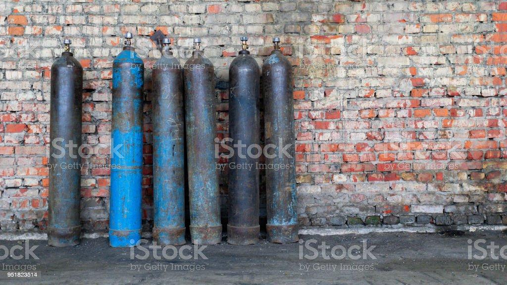 old frayed tanks for