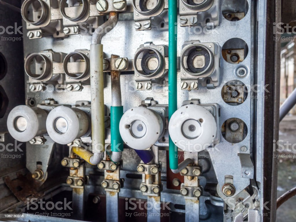 hight resolution of blown old fuse box