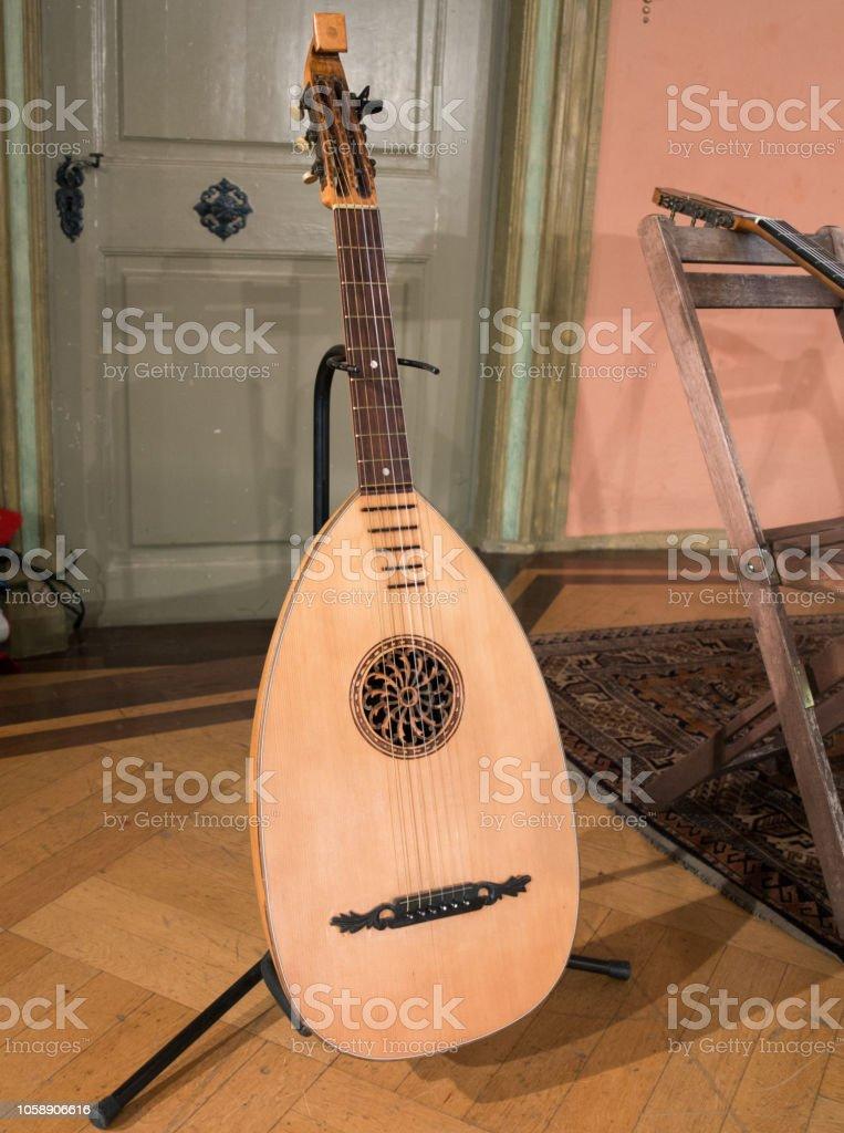 old mandolin musical instrument