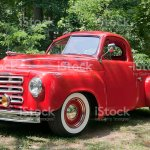 Old Red Farm Truck Stock Photo Download Image Now Istock