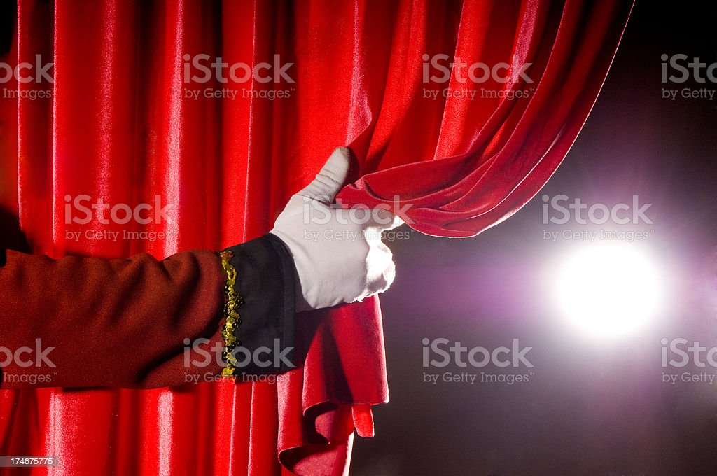 Open Red Curtains For Theater Pictures Images And Stock Photos