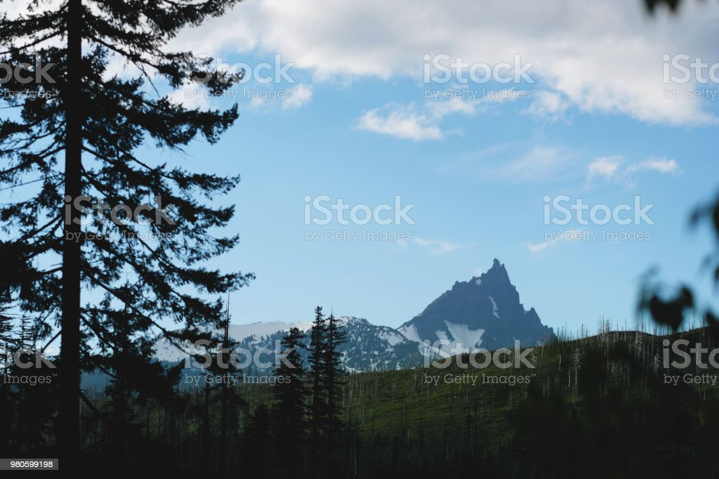 These rocks were uplifted to form the olympic mountains. Oregon Cascade Mountain Range Three Fingered Jack Stock Photo Download Image Now Istock