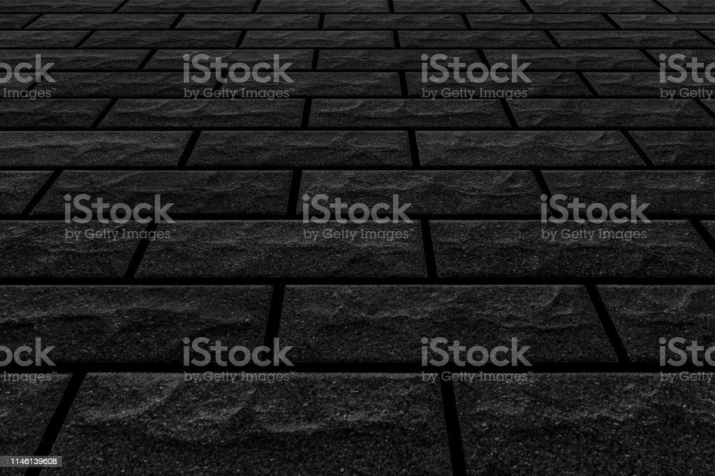 https www istockphoto com de foto outdoor black stone fliesen bodenstruktur textur und hintergrund gm1146139608 308740465