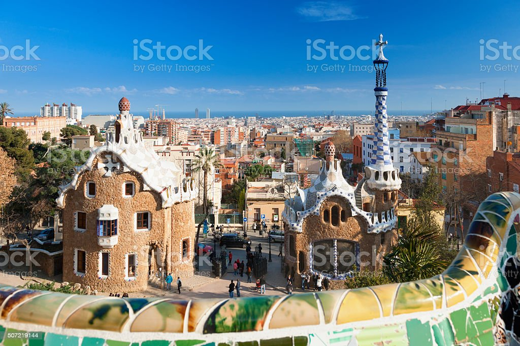 Park Guell Barcelona Spain Stock Photo Download Image Now
