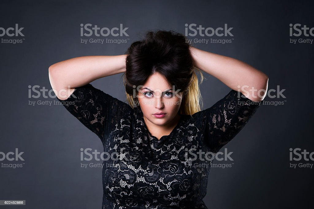 Plus Size Model Pictures Images and Stock Photos  iStock