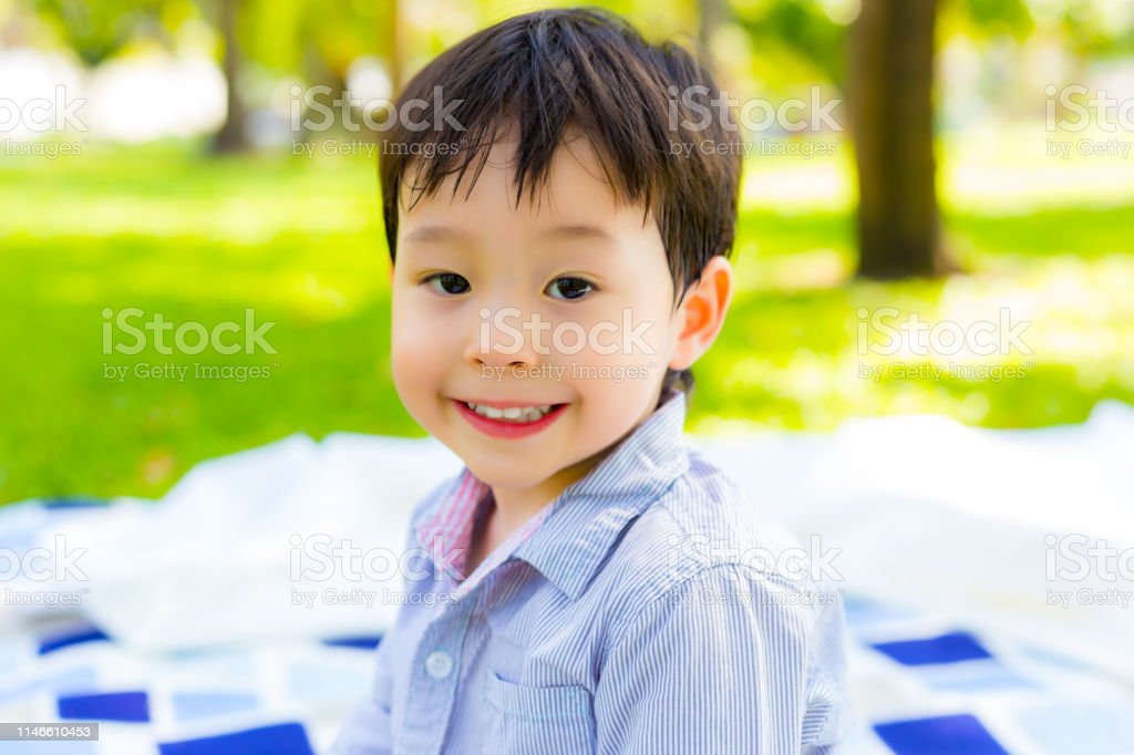 portrait cute toddler or