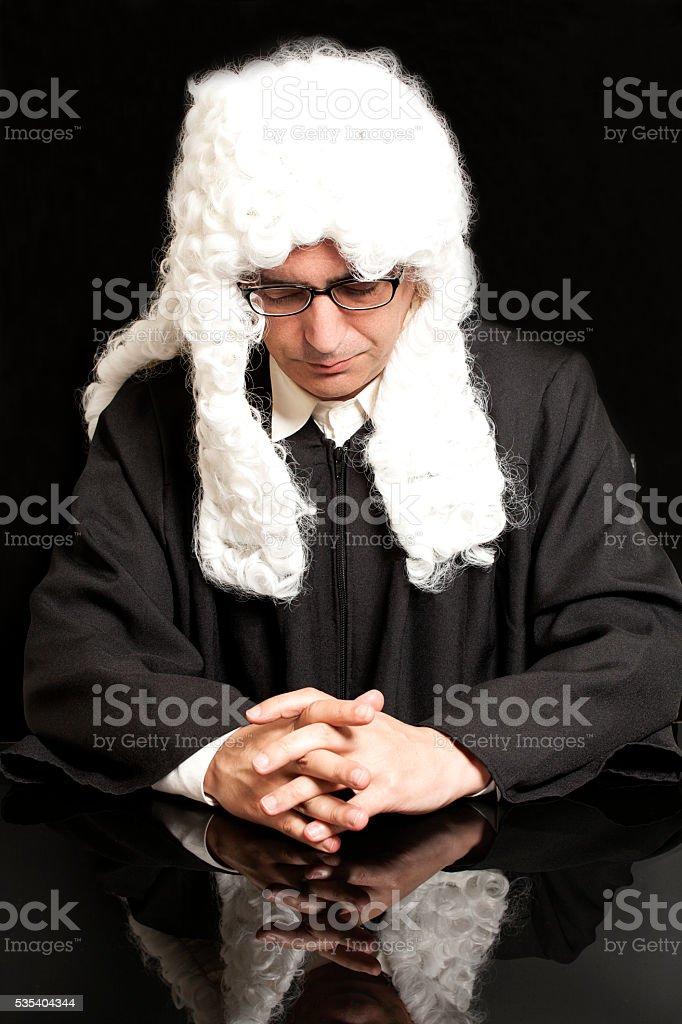 portrait of male lawyer